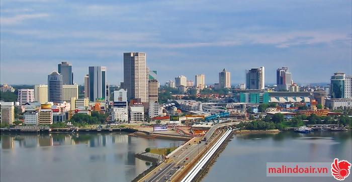 Bản đồ đường bay từ Hồ Chí Minh đi Johor Bahru