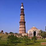 Khu Qutab Minar ở Delhi