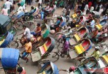 """Thủ đô Dhaka được mệnh danh là """"Thành phố xích lô thế giới"""""""