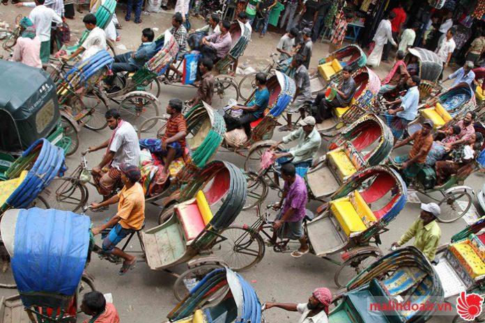 Thủ đô Dhaka được mệnh danh là