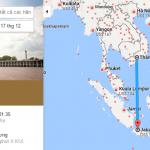 Bản đồ đường bay từ TP Hồ Chí Minh đi Jakarta, Indonesia