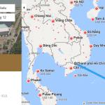 Bản đồ đường bay từ Hồ Chí Minh đi Kota Kinabalu