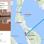 Bản đồ đường bay từ Hồ Chí Minh đi Penang