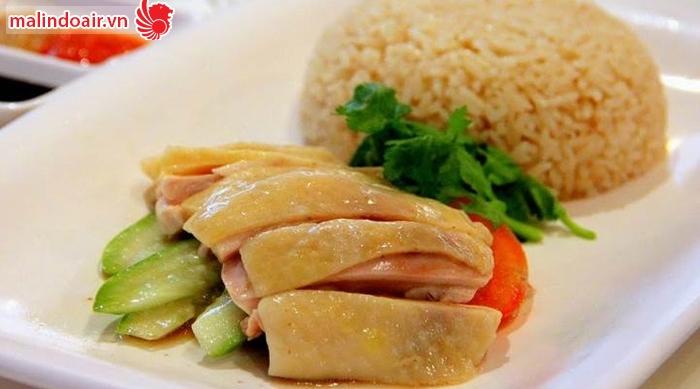 Món cơm gà nổi tiếng của Singapore