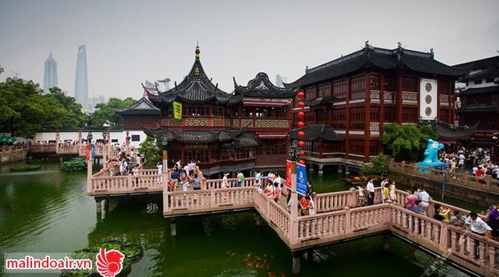 Dự viên - khu vườn cổ nổi tiếng của Trung quốc