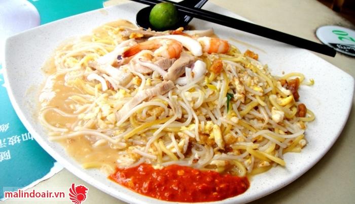 Món Hokkien Mee nổi tiếng của Malaysia