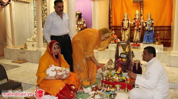 Đất nước Ấn độ có rất nhiều nghi thức truyền thống