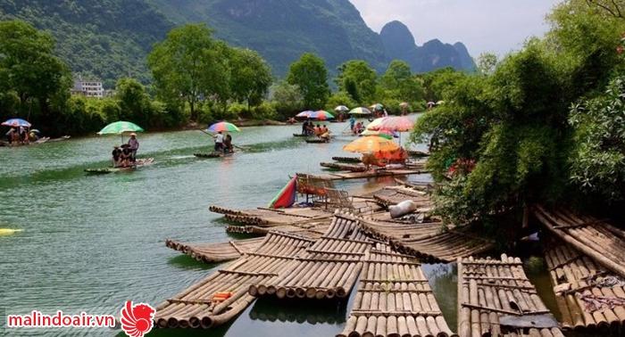 Vẻ đẹp sơn thủy hữu tình của vùng đất Quế Lâm