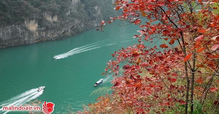 Một góc yên bình phẳng lặng của dòng sông Dương Tử