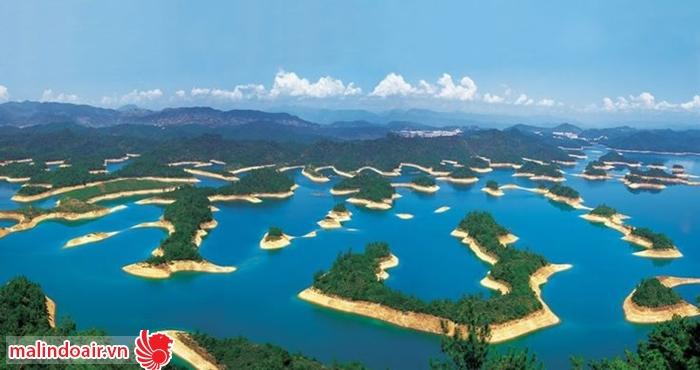 Đảo Qiandao với hàng nghìn hoàn đảo lớn nhỏ