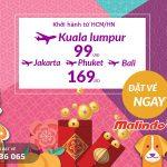Nhanh tay book vé, cơ hội đặt chân tới Kuala Lumpur chỉ từ 99 USD