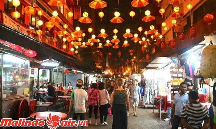 Khu phố người Hoa - Một trong những điểm đến đẹp ở Kuala Lumpur