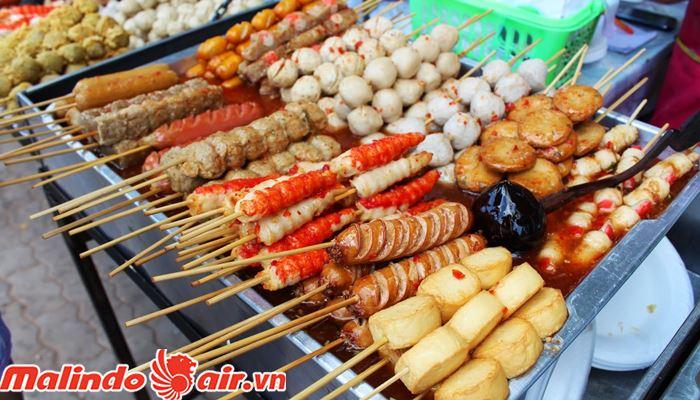Món ăn đường phố Kuala Lumpur