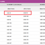 Bảng giá vé khuyến mại khởi hành từ TP. HCM