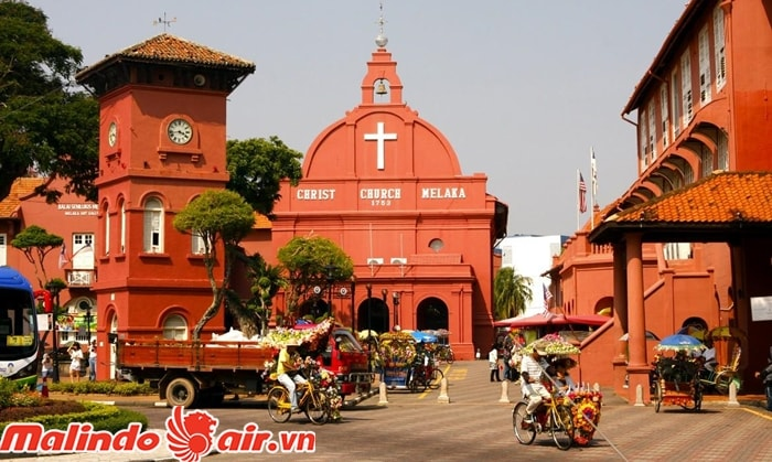 Thành phố cổ Malacca Malaysia