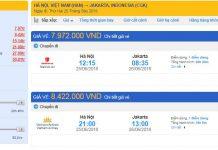 Hướng dẫn đặt vé máy bay đi Indonesia