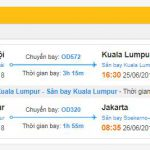 Thông tin chi tiết cho chuyến bay