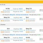 Thông tin chuyến bay đi tới Ấn Độ