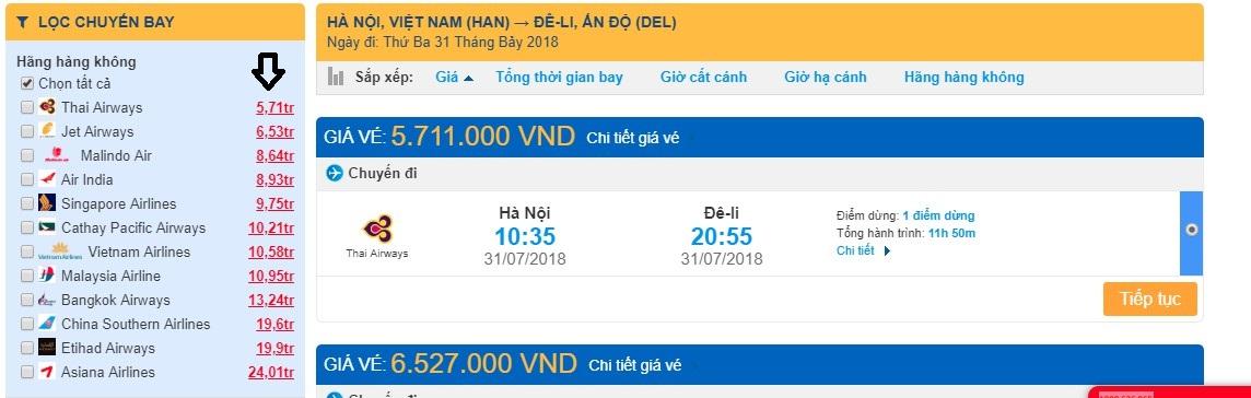 Tìm vé máy bay đi Malaysia