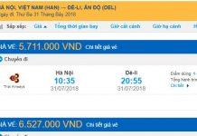 Chọn vé máy bay đi Ấn Độ giá rẻ theo hãng hàng không