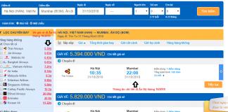 Giá vé máy bay đi Ấn Độ tháng 10/2018 từ các hãng hàng không
