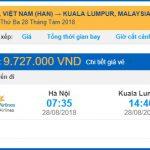 Săn vé máy bay giá rẻ đi Malaysia