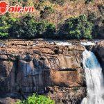 Cảnh hùng vĩ của thác Athirappilly