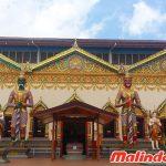Chùa thờ Phật Dhammikarama Burmese được dát vàng