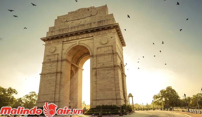 IndiaGate nơi kỷ niệm hàng ngàn chiến sĩ hi sinh trong các cuộc chiến tranh