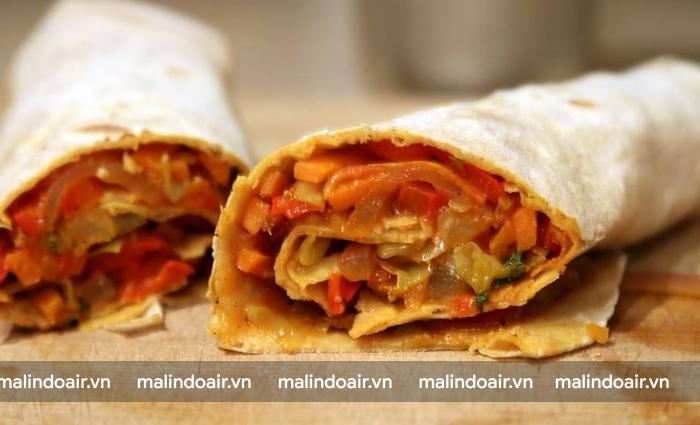 Frankie - món ăn lâu đời của người Ấn Độ