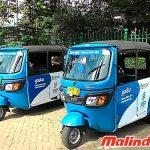 Bajaj - phương tiện giao thông công cộng chủ yếu ở Jakarta