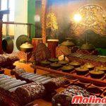 phòng trưng bày nhỏ bên trong Bảo tàng quốc gia Indonesia