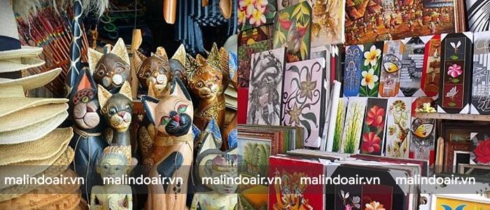 Đồ thủ công mĩ nghệ là món quà ý nghĩa ở Bali