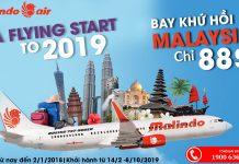 Khuyến mãi năm mới của Malindo Air