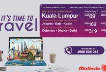 Khuyến mãi lớn của Malindo Air