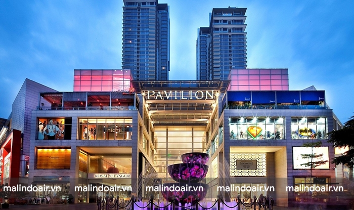 Pavilion Kuala Lumpur Shopping Mall trung tâm mua sắm hàng đầu Kuala Lumpur
