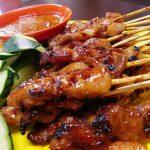 Thịt xiên nướng Satay