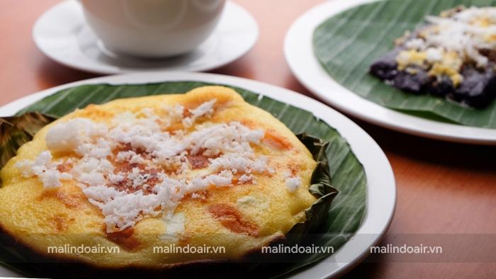 Bánh dừa ngọt Bibingka