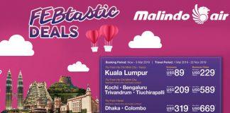 Vé máy bay khuyến mãi từ Malindo Airlines