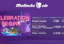 Khuyến mãi hấp dẫn từ Malindo Airlines