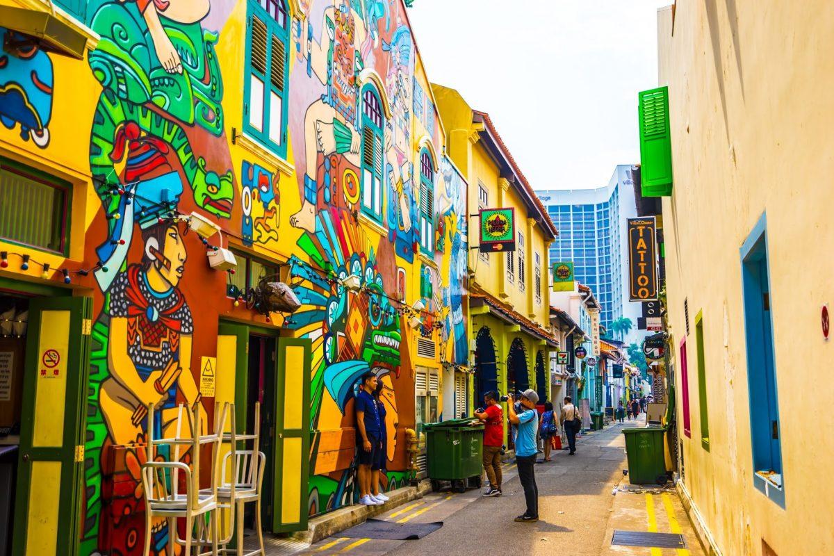 Con đường nghệ thuật Singapore