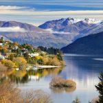 Mùa thu ở New Zealand với đặc trưng là những khu rừng chuyển màu