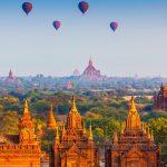 Ngắm nhìn toàn cảnh Bagan từ trên cao
